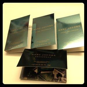4 Marc Jacobs edp samples - Decadence